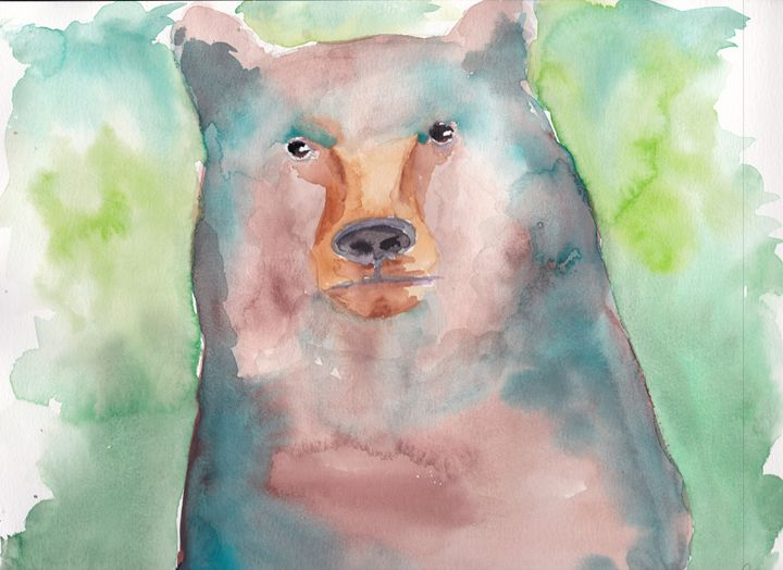 Bear - Cydney's art
