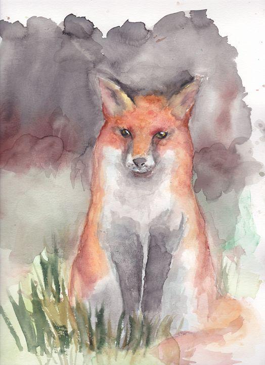 Red Fox - Cydney's art