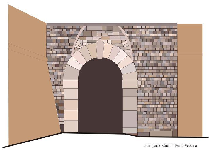 Porta Vecchia - Grosseto - Giampaolo Ciurli
