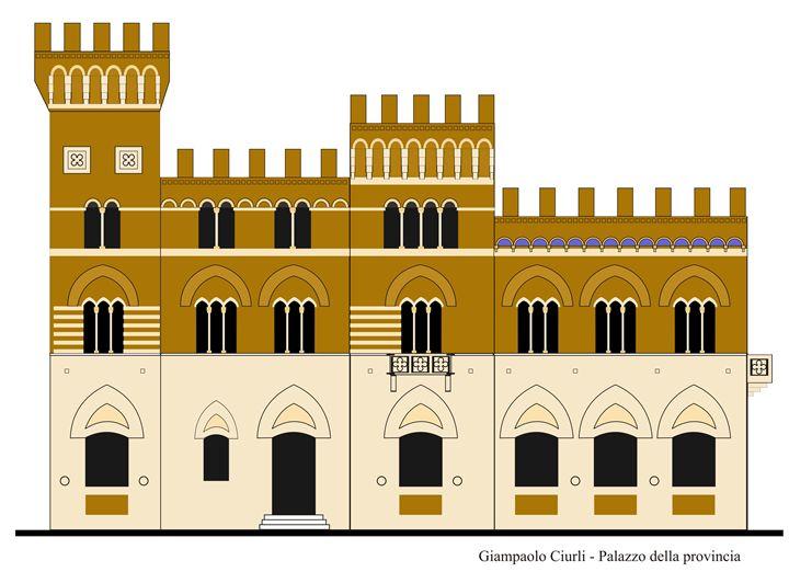 Palazzo della provincia - Giampaolo Ciurli