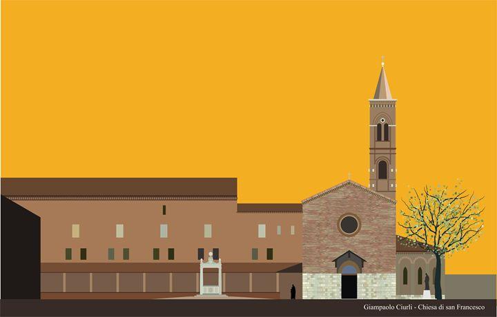 Chiesa di san Francesco - Grosseto - Giampaolo Ciurli