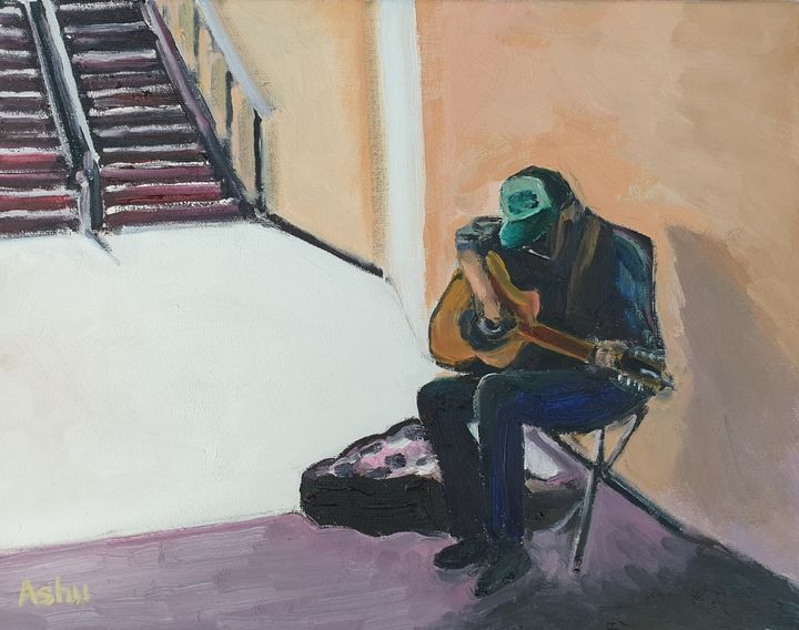 Fiddler under the Bridge - Ashu Shendé