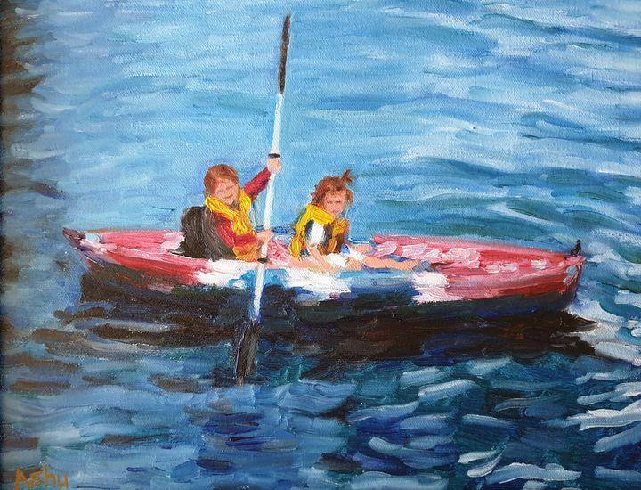Kayak Sisters - Ashu Shendé