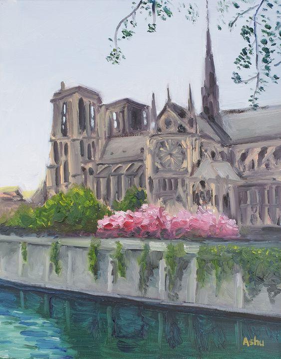 Notre-Dame on the Seine - Ashu Shendé