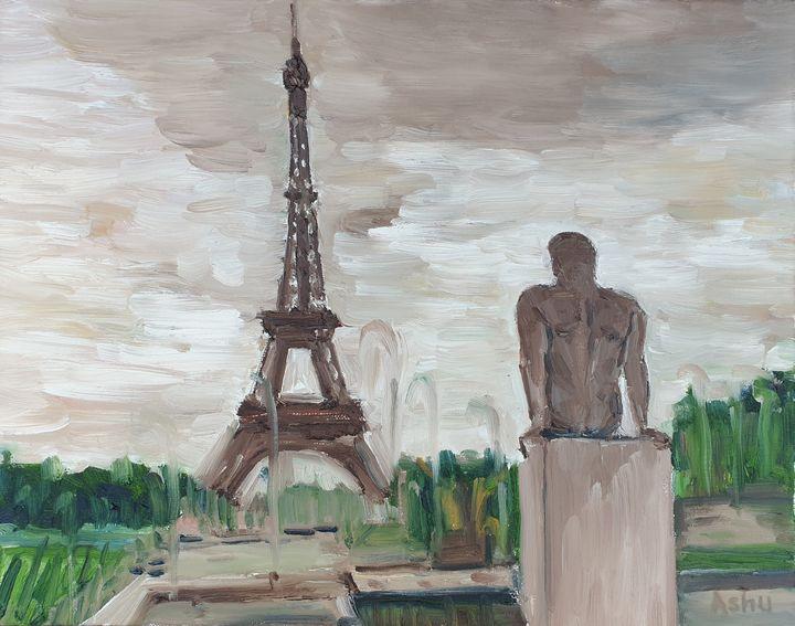 Eiffel Tower View from Trocadero - Ashu Shendé