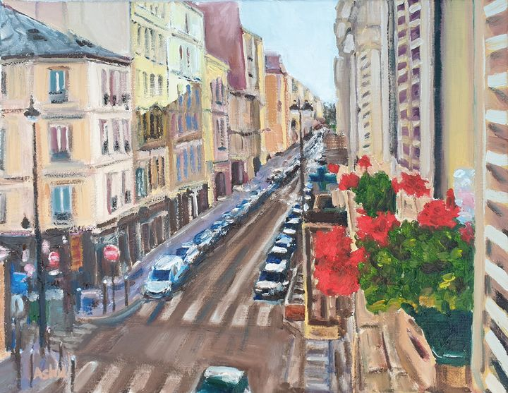 Bonjour Paris - Ashu Shendé