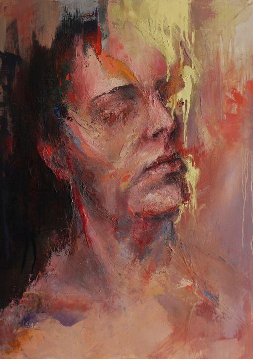 "from ""Humanscape"" series - gold - Joanna Sokolowska"