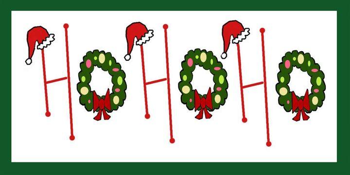 Ho Ho Ho - Illustrations by Toni