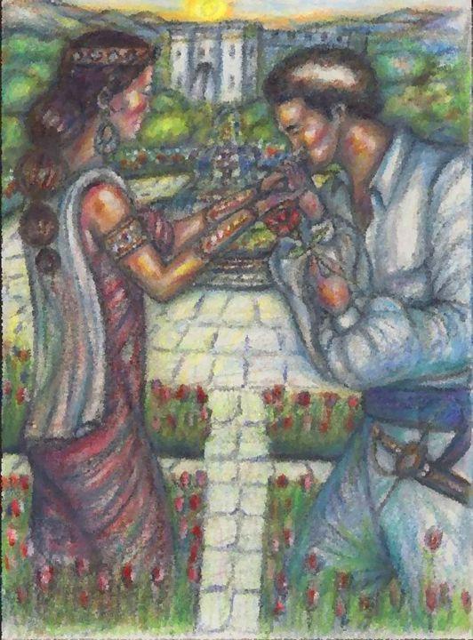 Courtship of love,Garden of eternity - kenny richards