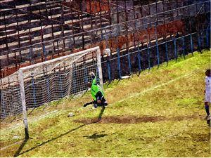 Goalkeeper in action - JohnVito