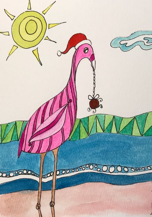 Christmas Decorating - BobbinsArtWork