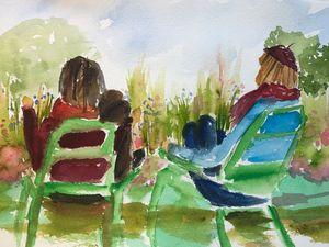 Couple in the Tuileries Garden