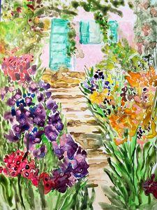 Monet's Green Door