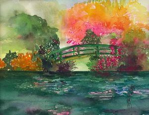Monet's Green Bridge