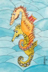 Happy Sea Horses