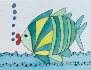 Gary the green Fish