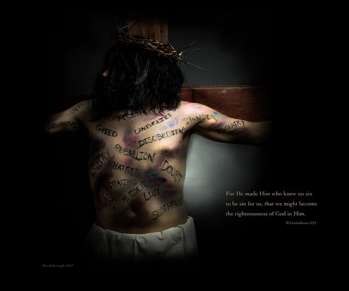He Became Sin - Breakthrough Photographic Art