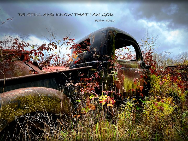 Be Still and Know - Breakthrough Photographic Art