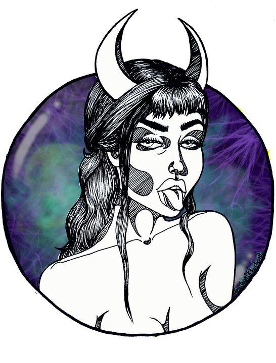 SpookyGirl - BaileyLarkinArttt