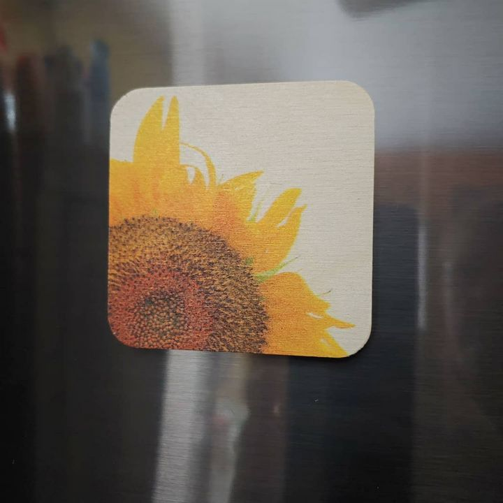 Sunflower Magnet - Drgnfly Designs