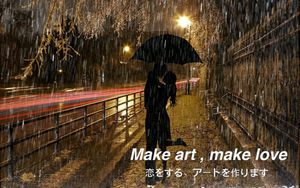 Make art, make love