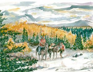 The elk hunters