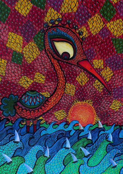 Phoenix boots - C. Katavyentos