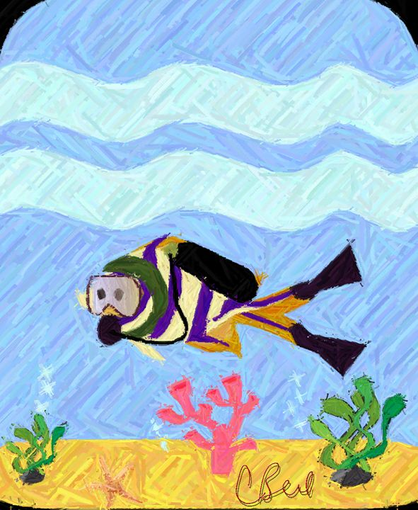 Fish Diver - MannyBell