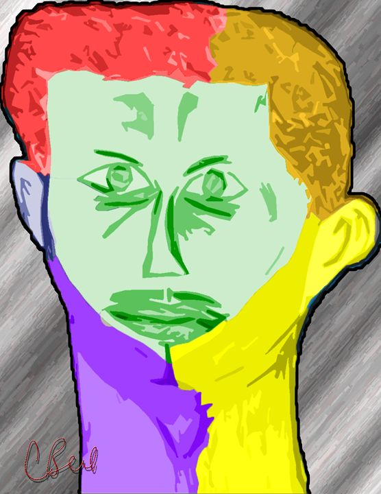 Colorful Man - MannyBell