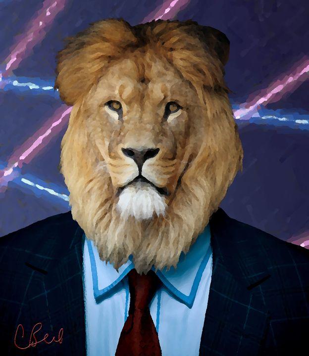 Lion Portrait - MannyBell