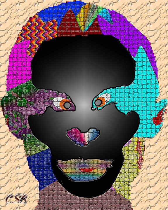 Colorful Face - MannyBell