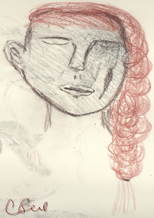 Red Hair Woman - MannyBell