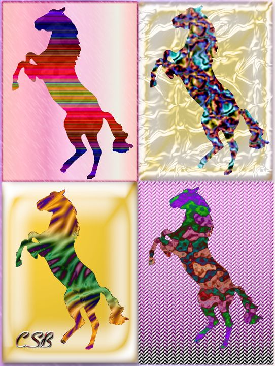 4 Horse Cubed - MannyBell