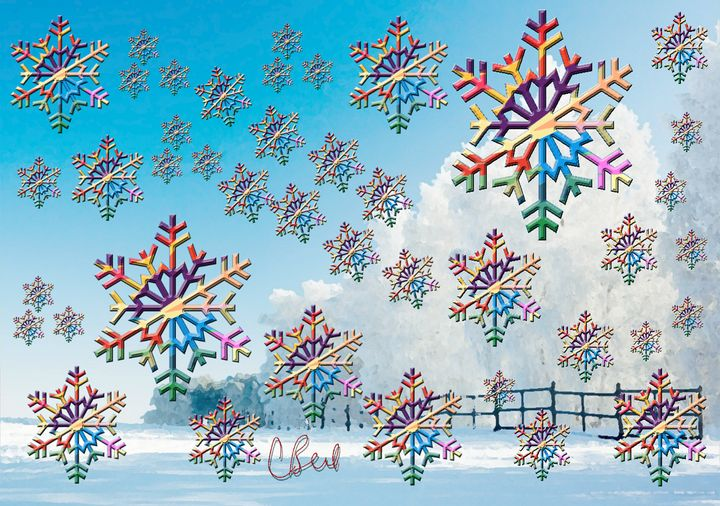 Snowflakes Snowing - MannyBell