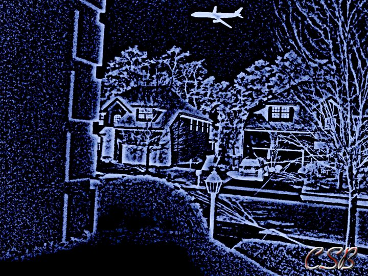 Plane Over Home - MannyBell