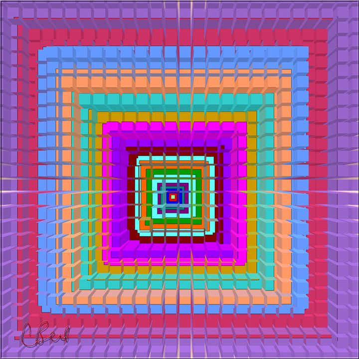 Colorful Blocks - MannyBell