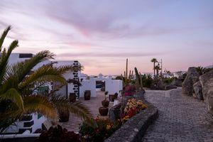 Sunset panorama Lanzarote