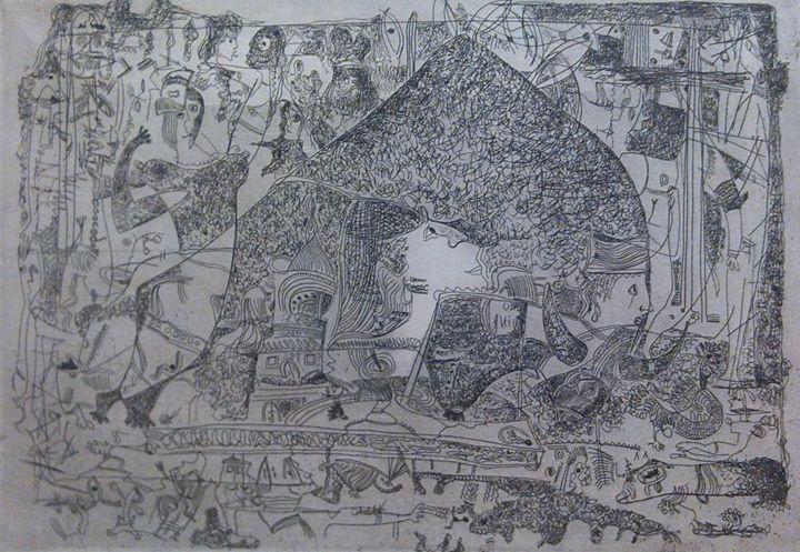 Sllegoria del Bue (Bull's Allegory) - Ion Koman