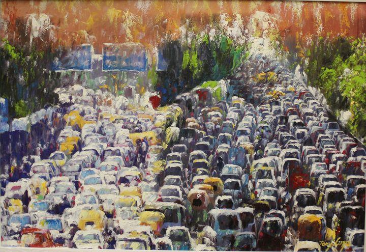 Kinshasa is distilled chaos - Tony Luza