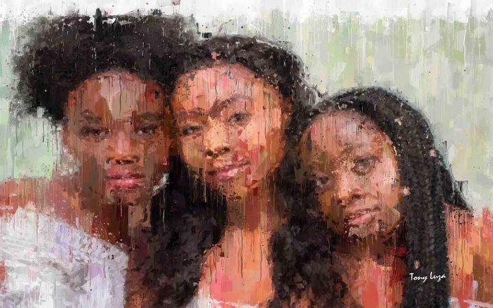 Family Girls - Tony Luza