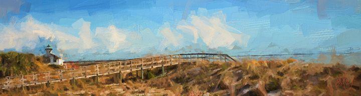 Beach Walk - David E. Francey - Digital Artist