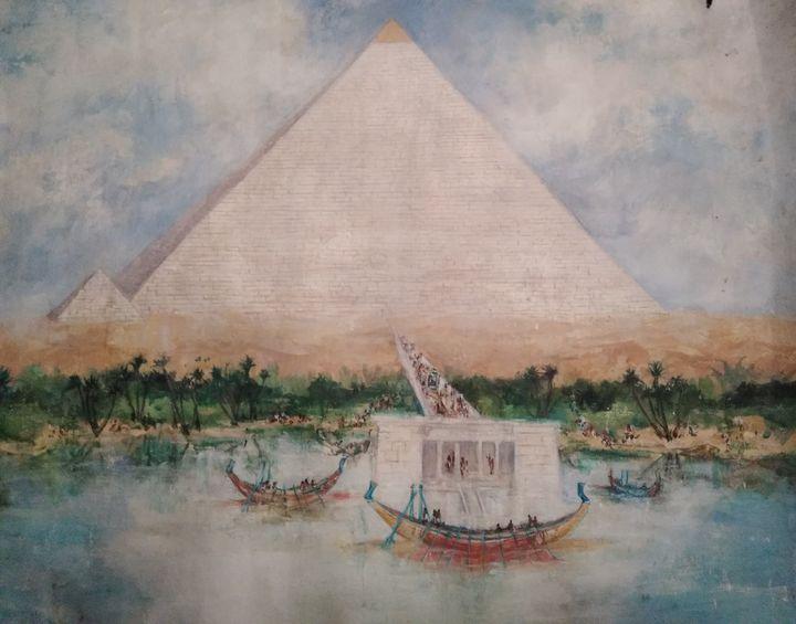 Egypt - Mariana Redwine art collection