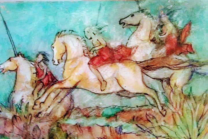 Angels - Redwine art