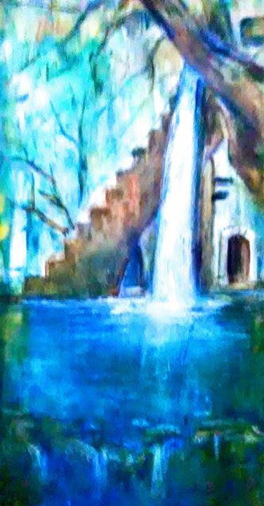 Waterfall dream - Mariana Redwine art collection