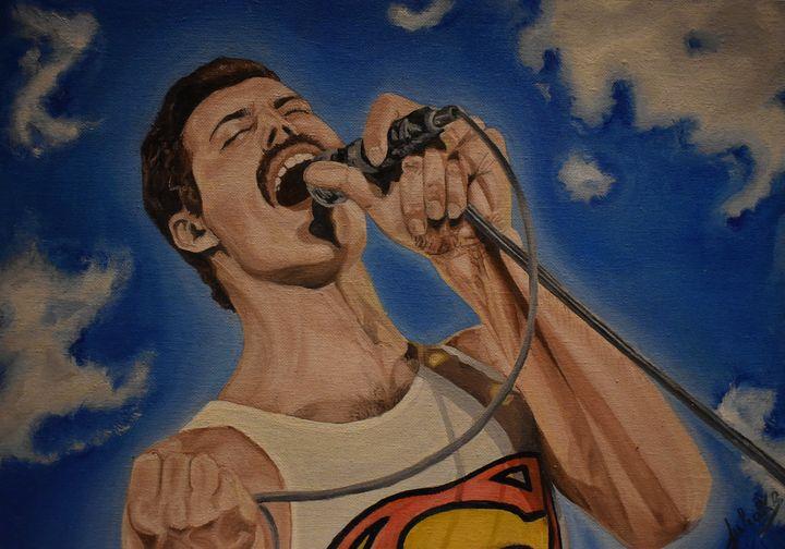 Freddie Mercury - Art by Julischka