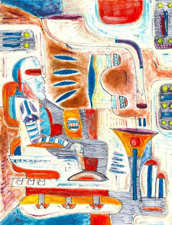 Shuttle Man - Alejandro Gomez-Pamplona