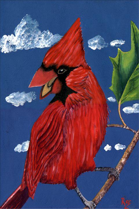 Red Cardinal - Rocangelo