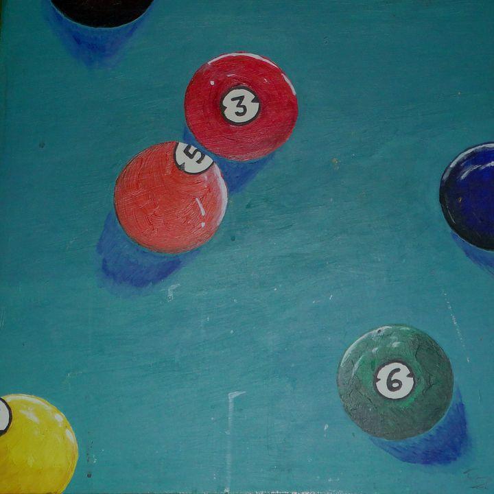 pool balls - Rocangelo