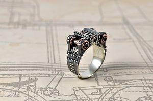 """Silver Ring """"Peragemus"""""""