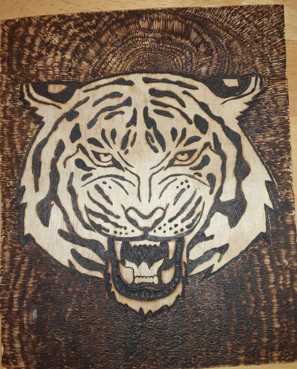 Bengal Tiger - DVine Wood Creations